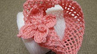 Repeat youtube video Banda para Niña Crochet
