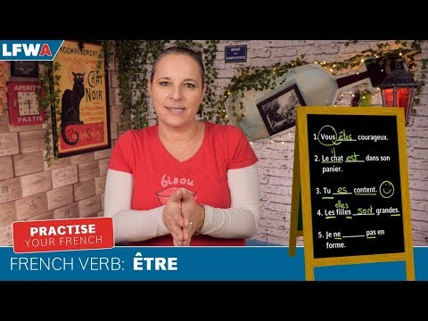 Practise your French verb ÊTRE (TO BE)