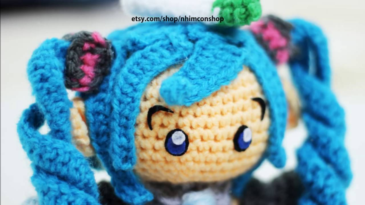 Amigurumi Hatsune Miku : Hatsune Miku Amigurumi Crochet Plushies Handmade by ...
