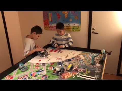 Lego FLL 2017 Hydrodynamics Rain & Pump mission