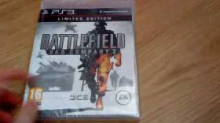 Unboxing: Battlefield: Bad Company 2 - Limited Edition
