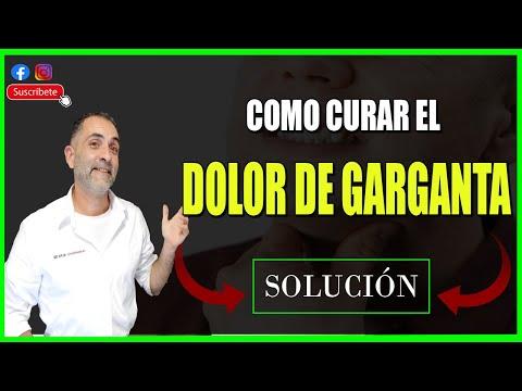 Cómo Quitar el DOLOR DE GARGANTA. Remedios Caseros y TRUCO ORIENTAL