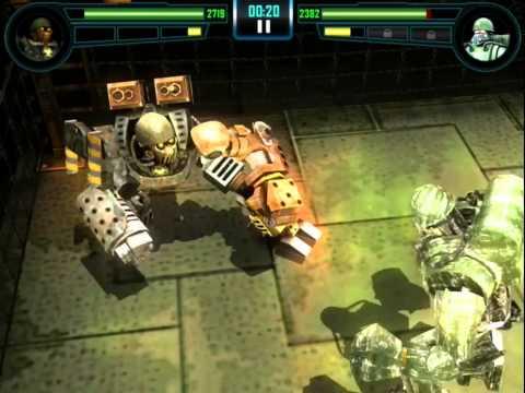 Real Steel WRB Bio War VS Sarge NEW updating  Обновление