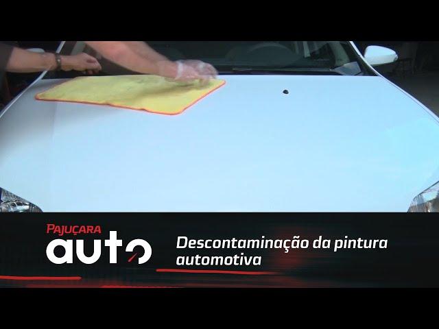 Você já ouviu falar de descontaminação da pintura automotiva?