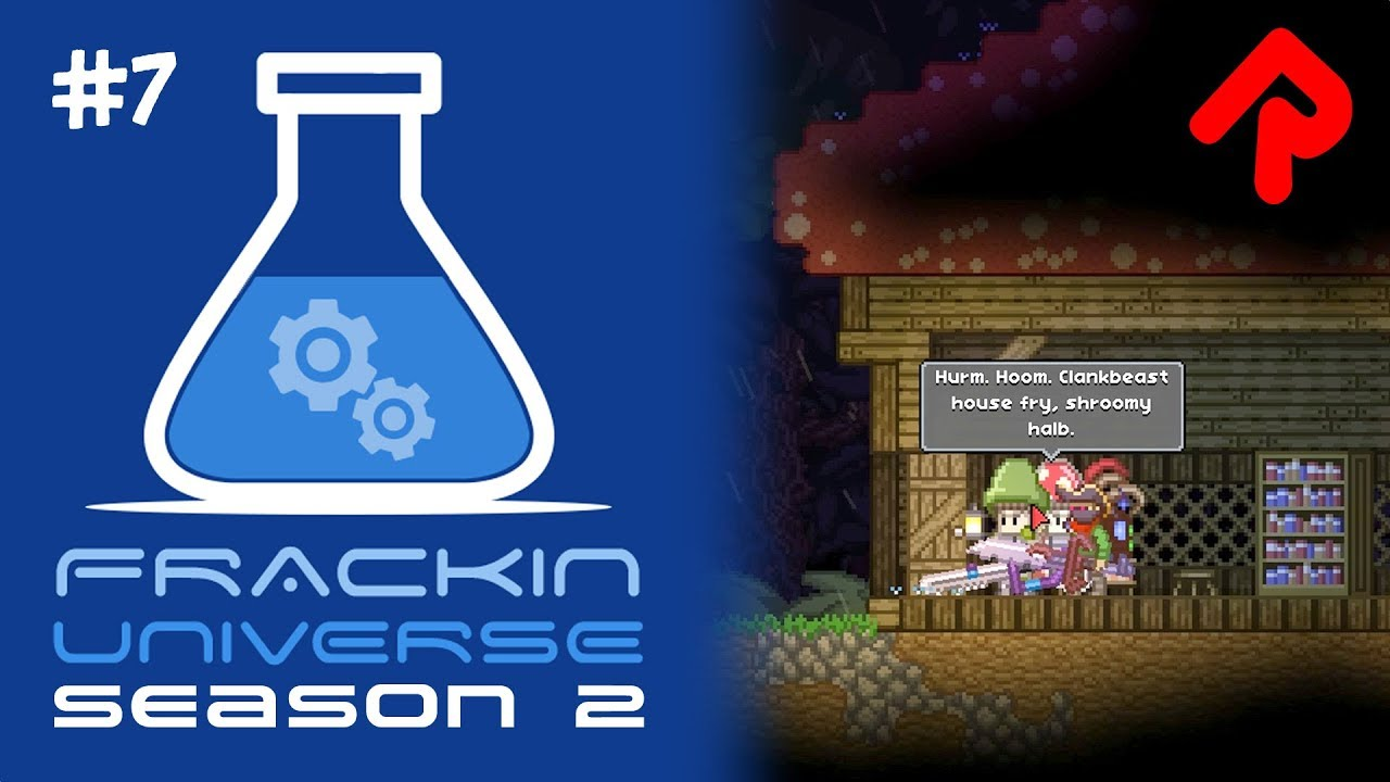 EPPs, Electricity & Power Stations! | Let's play Starbound Frackin'  Universe S2 ep 7