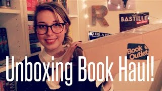 Unboxing Book Haul! Thumbnail