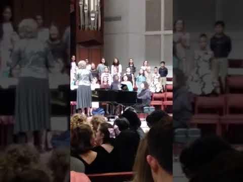 Aragon middle school choir concert (part 2)