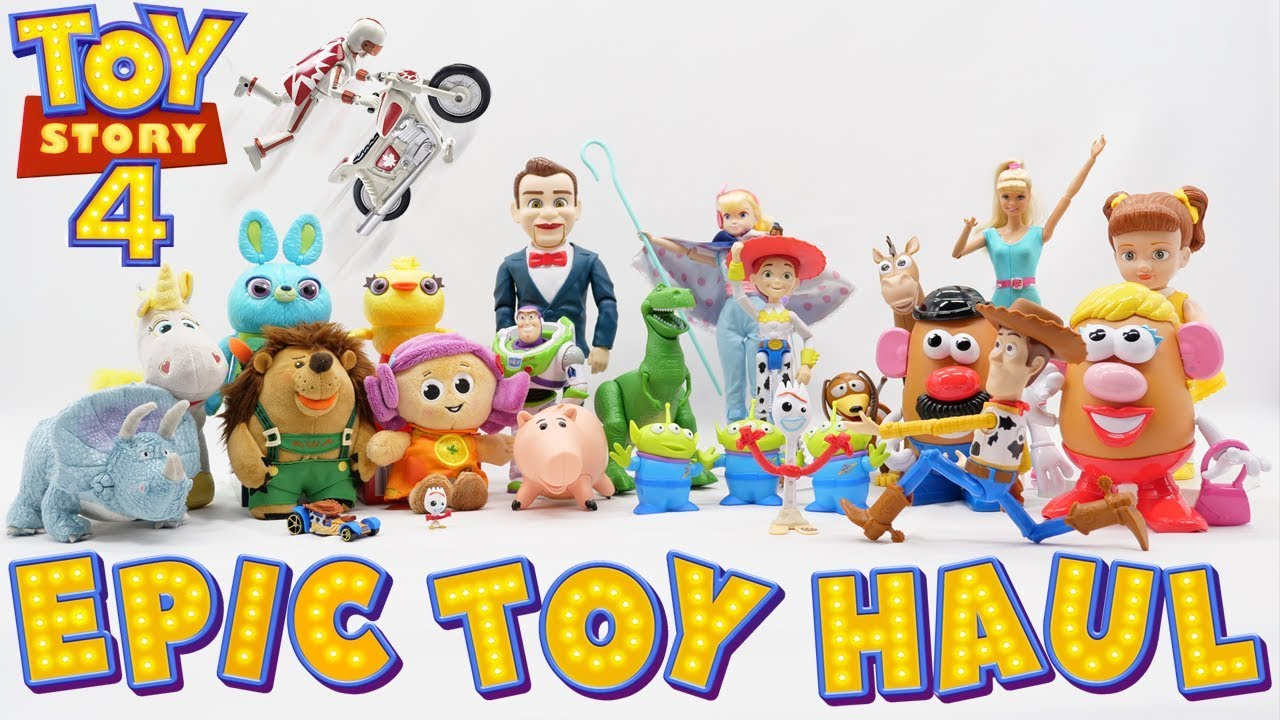 Toy Story 4 Toys - Epic Haul Unboxing