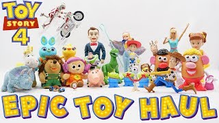 Download Toy Story 4 Toys - Epic Haul Unboxing Mp3 and Videos