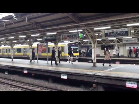 JR山手線・中央総武線 代々木駅 Japan Tokyo JR Yamanote Line & Chuo-Sobu Line Yoyogi Sta.
