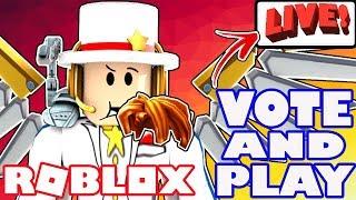 LET'S PLAY ROBLOX! - VOTA SU GIOCHI - Q CLASH, JAILBREAK, EPIC MINIGAMES, FUGA ALLUViONaLE, E altro ancora!
