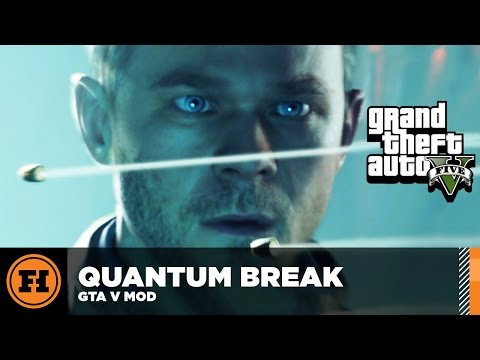 Mod Gameplay - QUANTUM BREAK In GTA 5!