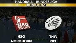 HSG Nordhorn-Lingen vs. THW Kiel 19.12.2001 1. Halbzeit