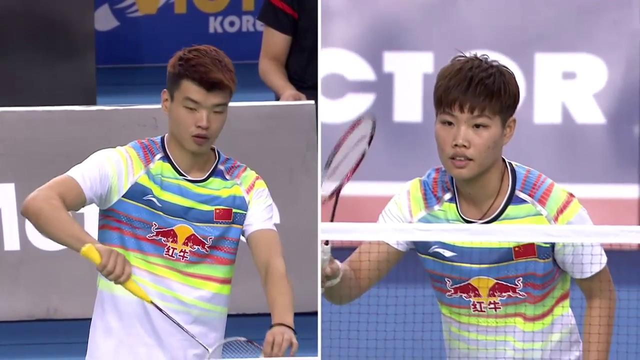 Badminton 2017 Japan Open LU Kai HUANG Yaqiong vs CHAN Peng Soon