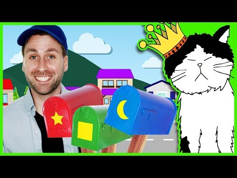 Mailbox Song | Learn Colors and Shapes | Mooseclumps | Kids Learning Videos and Songs for Toddlers