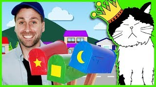 📫 Mailman Preschool Song | Learn Colors & Shapes | Mooseclumps | Kids Learning Songs for Toddlers