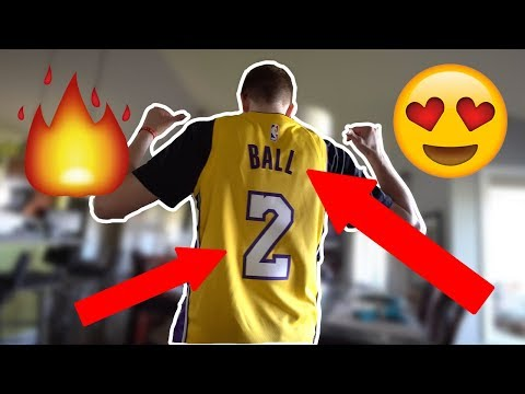 Lonzo Ball Nike Swingman Jersey Review!
