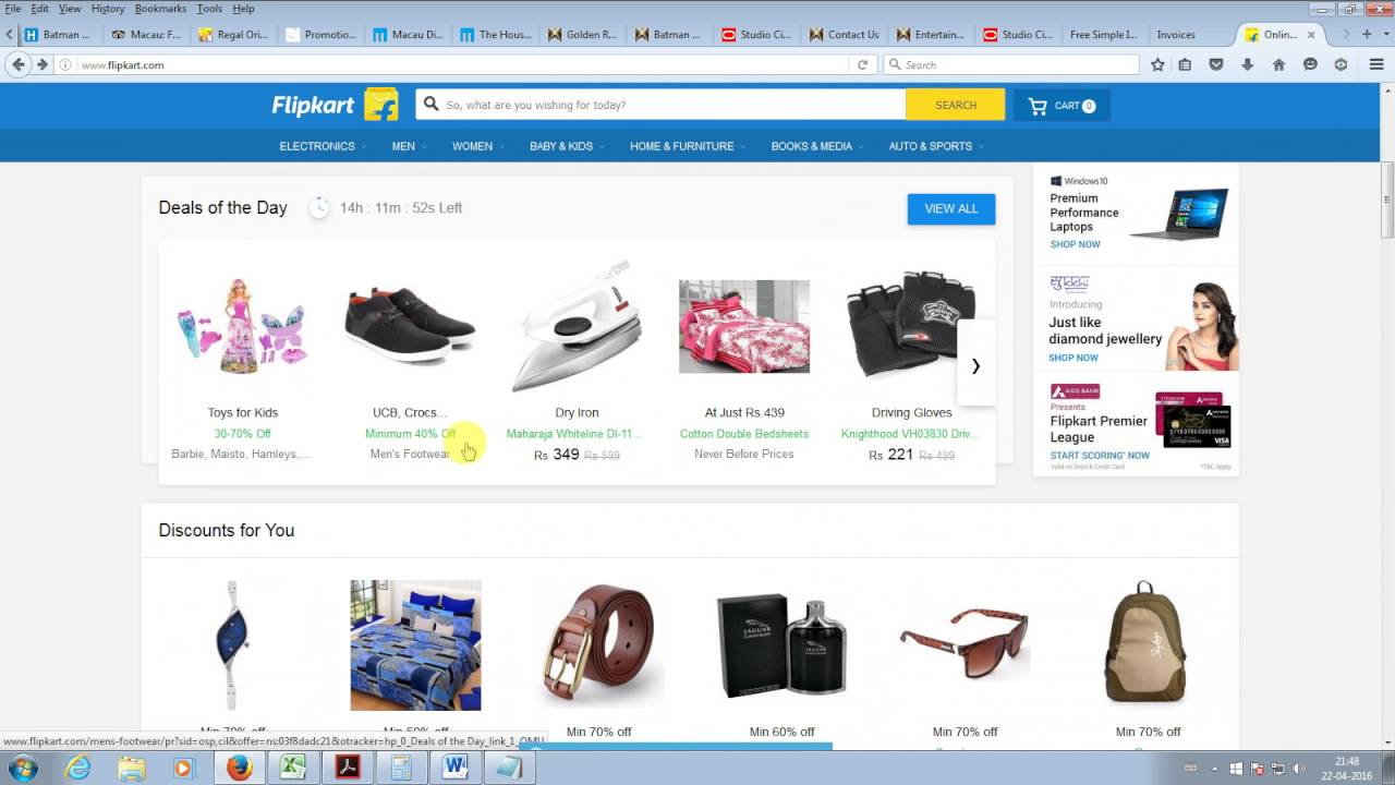 4b6adc8df1f How to hack shopping sites flipkart snapdeal   reduce the cost easily  without app   Verfication..! - YouTube