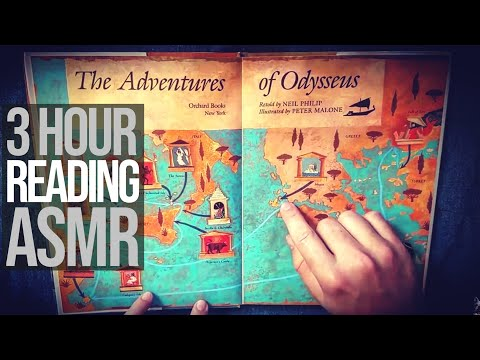 The Odyssey (Complete Story, 3 HOURS) | ASMR Book Reading