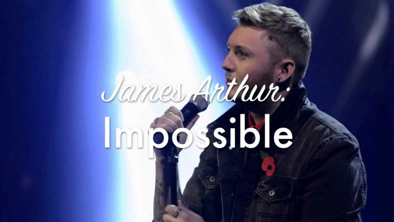 James Arthur- Impossible (X Factor Winner's Single) - YouTube