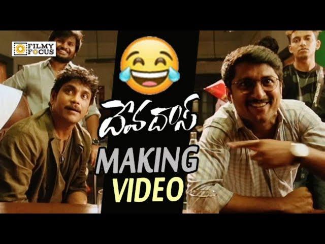 Devadas Movie Making Video || Nagarjuna and Nani Funny Bloopers || Rashmika, Akanksha Singh