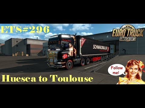 ETS#296 Transporting 9 Tons of Electronic Products from Huesca to Toulouse 439 KM