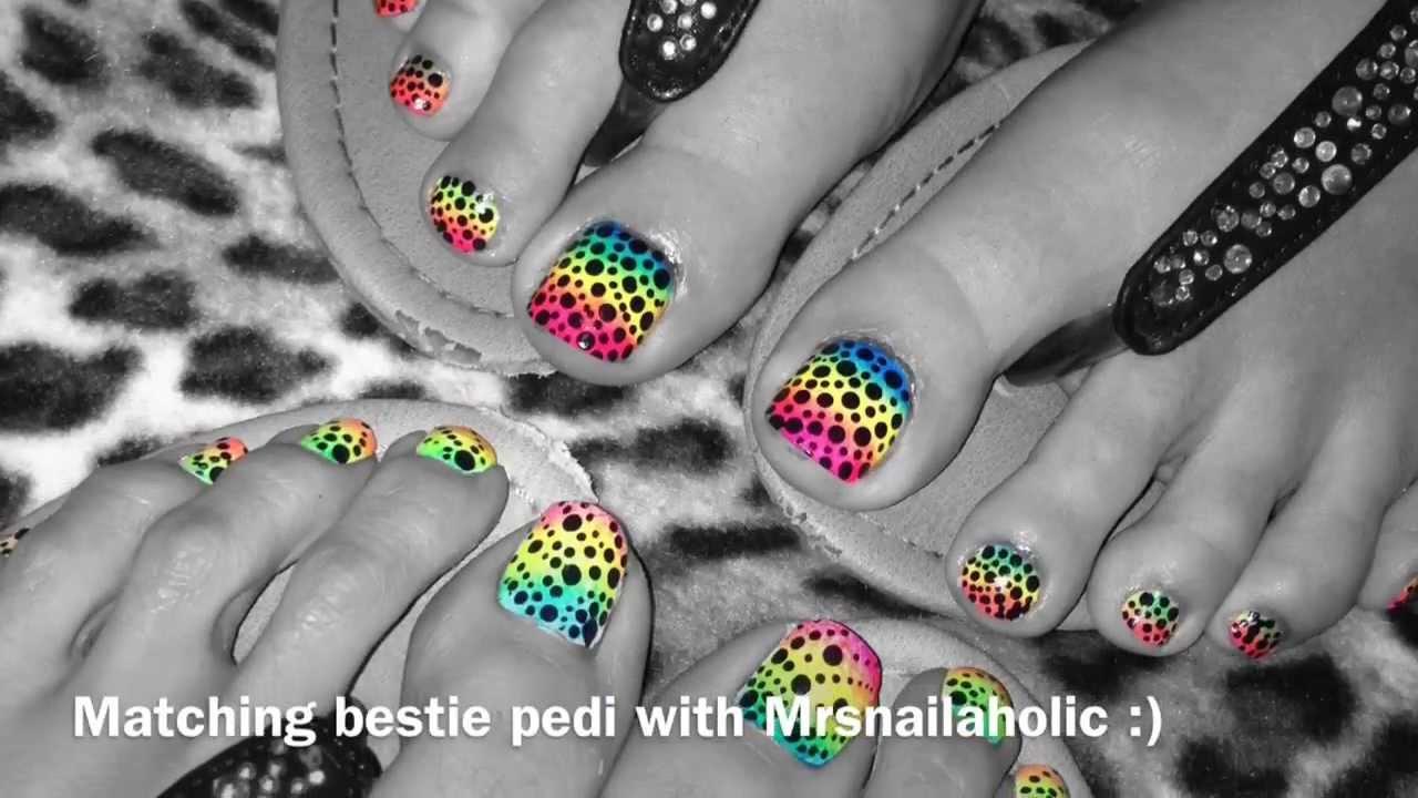 August 2013 Toe Nail Art Designs Youtube