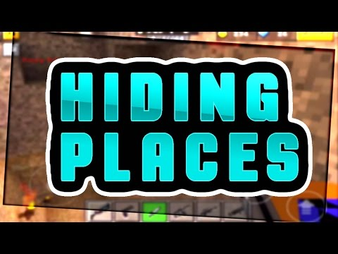 Top 5 Hiding Places on Deadly Games in Pixel Gun 3D