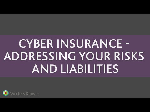 Cyber Insurance: Addressing Your Risks and Liabilities