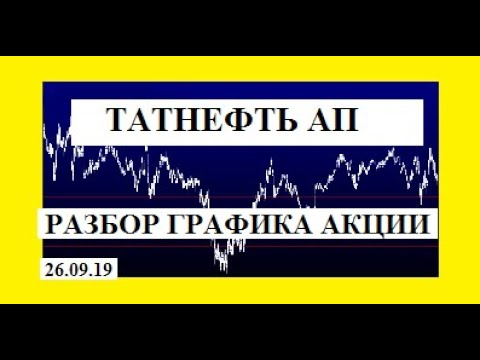 ТАТНЕФТЬ АП /РАЗБОР ГРАФИКА АКЦИИ  / 26.09.2019