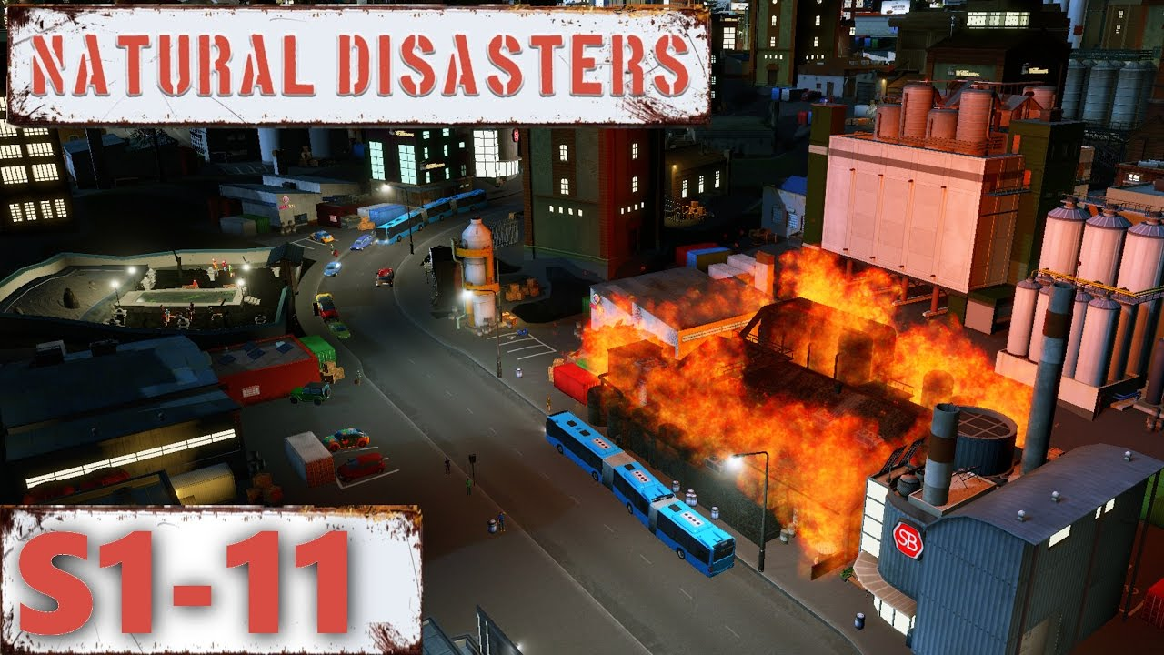 Cities Skylines Natural Disasters Youtube