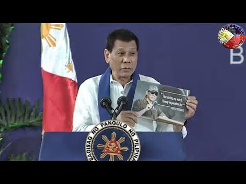 DUTERTE AT THE 116th ANNIVERSARY OF BOC AND WITNESS SMUGGLED LUXURY VEHICLES DESTROYED (FULL SPEECH)