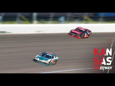 Brandon Jones wins NASCAR Xfinity Series race at Kansas Speedway