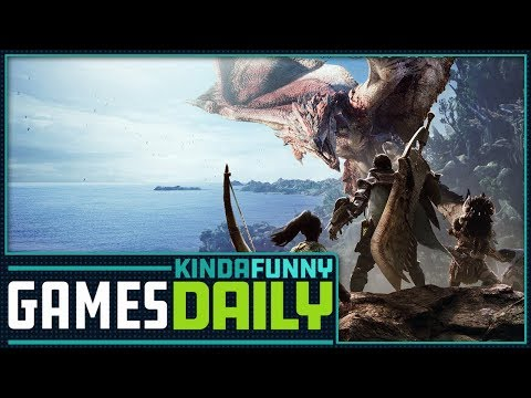 Monster Hunter: World Is Capcom's Best-Selling Game Ever - Kinda Funny Games Daily 03.05.18