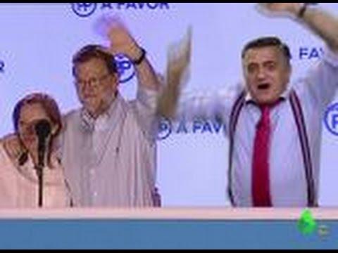 """Wyoming celebra la victoria con Rajoy: """"Vas a gobernar en plasma por segunda vez"""""""