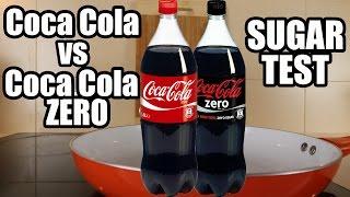 Coca Cola vs Coca Cola Zero. Science Experiments with Coca Cola. How much SUGAR is in Coca Cola.