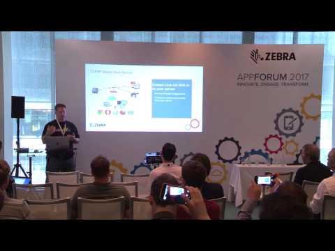 Zebra Technologies: Web Printing Solutions, AppForum 2017 (EMEA)