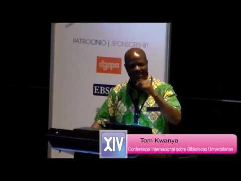 El bibliotecario como profesional de la información: elemento dinamizador, Tom Kwanya