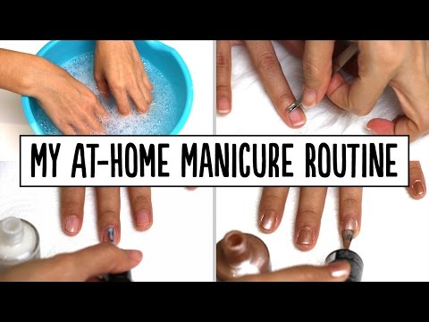 My At-Home Manicure Routine | Pippopunkie