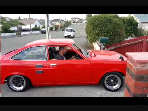 Datsun 1200 first drive after resto