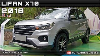 2018 LIFAN X70 Review Rendered Price Specs Release Date