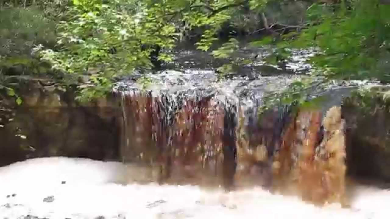 Waterfall In Florida Youtube