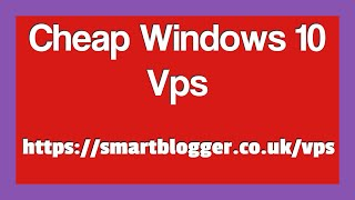 Cheap Windows 10 VPS Hosting Review