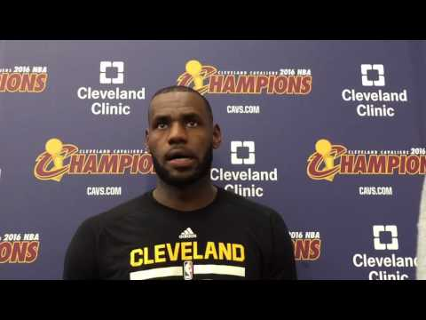 LeBron James defines 'locker room talk'