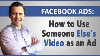 Facebook Ads: How to Use Someone Else