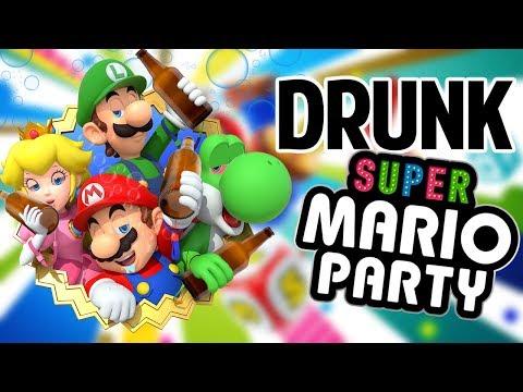 SUPER DRUNK MARIO PARTY - Gameplay