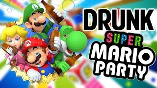 SUPER DRUNK MARIO PARTY - Gameplay