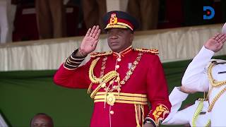 Why President Uhuru wore his Military uniform on Jamuhuri Day