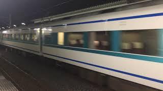 【すぺーしあ】東武100系 特急 スペーシア(粋)@東向島駅(通過)