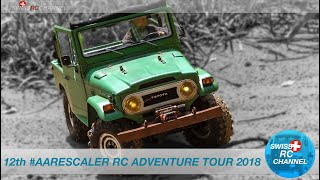 RC SCALE CAR ADVENTURE TOUR - 12th AARESCALER RC TOUR 2018